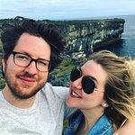 beautiful cliffs on the island