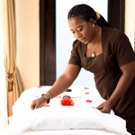 In room spa treatment