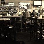 A Filn Noir view of the Bar