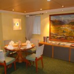 Salle à manger avec le fameux tableau de Giacometti