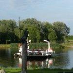 de pont bij Broekhuizen (L) vanaf terras van Rest. Bij Christoffel