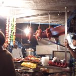 Meat dishes at Mohammed Ali Road