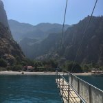 Boattrip at butterfly valley