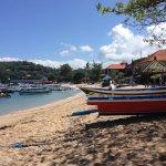 Tourist boats at Padang Bai