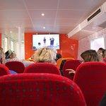A view inside Rottness Express