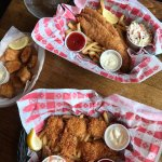 The walleye bites and the walleye basket was fantastic! It is my husbands to favorite fish!