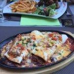 Enchiladas chili et ribs Tenessee