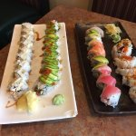 Well made and very tasty sushi rolls