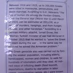 Even Greeks experienced the effects of genocide