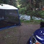 Creek campsite No. 1