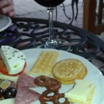 Happy hour wine and Hors d'Oeuvres
