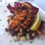 Grilled octopus tapas