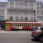 Canal Streetcar goes through Central Business District ,Mid City,Bayou St John cemteteries