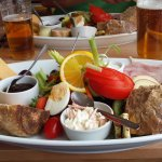 Fabulous Ploughmans Lunch and lovely friendly staff.