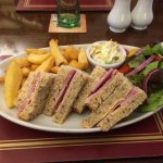 Ham Sandwiches and Chips