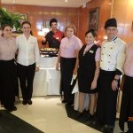 Some of the Balcon's friendly and efficient staff.