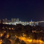 Night view from roof top at Molina Lario