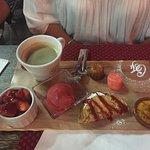 Dessert café gourmand