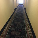 Halls were quiet, even had a pleasant smell