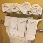 they even gave us extra towels