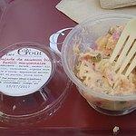 salade de saumon fusili mayonnaise