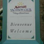 Marriott Resort Welcome Sign