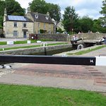 Bradford Lock is Lock number 14 on the Kennet & Avon Canal