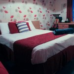 Double bed in room 4