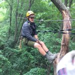We had a fabulous time zip lining with my kids aged 17-14 and 11. It was adventurous yet safe an