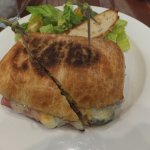 CUBANO... puled pork swiss ham in toasted Ciabata Bun