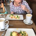 Eggs Royale..... yummy!!