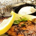 Baked Salmon with Hoisin Glaze