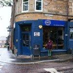 Velocity Cafe in the Rain