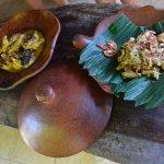 Shredded Chicken Salad and Grilled Balinese chicken
