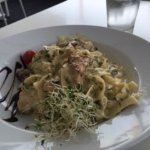 Chicken breast tagliatelle