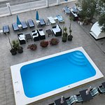 wonderful pool to cool off in or simply walk a few feet to the Adriatic