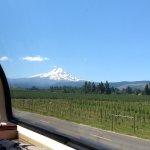 Great Mt. Hood But Broken Down Mt. Hood Railway!
