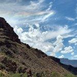 rainbow cloud on North Kaibab