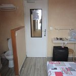 Toilet in the room
