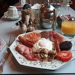 Full Irish breakfast whI have was fresh and delish