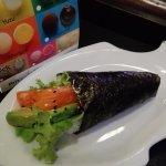 Temaki saumon/avocat