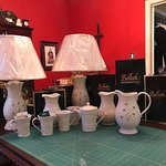 My lamps, vases, pitcher and coffee mugs all arrived safe and sound.