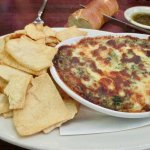 Spinach and artichoke dip... the best!