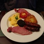 "Hubby, on the other hand selected ""The Full Irish"" for his breakfast with scrambled eggs."