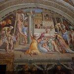 From the Raphael Rooms, the Stanza dell'Incendio di Borgo