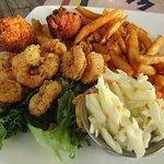 Tom's Fried Shrimp Platter