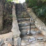 stairway along the paths
