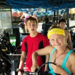 Tom and Julia, fun and friendly dive masters.