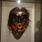 A wonderful collection of masks.