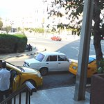 $25 for a short ride in a yellow cab; $5 for the same in an old white car.